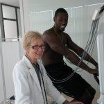 Žymių šalies sportininkų sveikata besirūpinanti gydytoja savo paslaugas teikia ir tauragiškiams